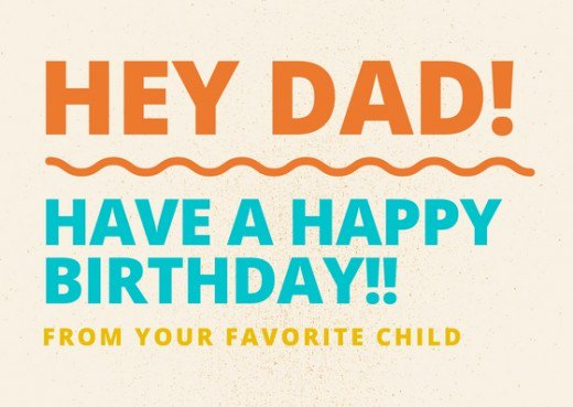 happy birthday to your dad ; 13389264_f520