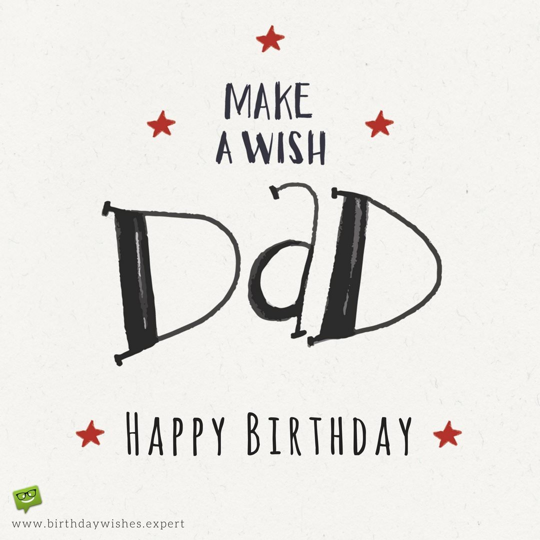 happy birthday to your dad ; Hand-written-Birthday-wish-for-my-Dad