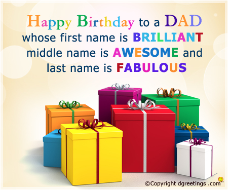 happy birthday to your dad ; happy-birthday-to-a-dad