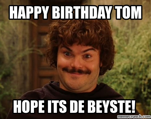 happy birthday tom meme ; image