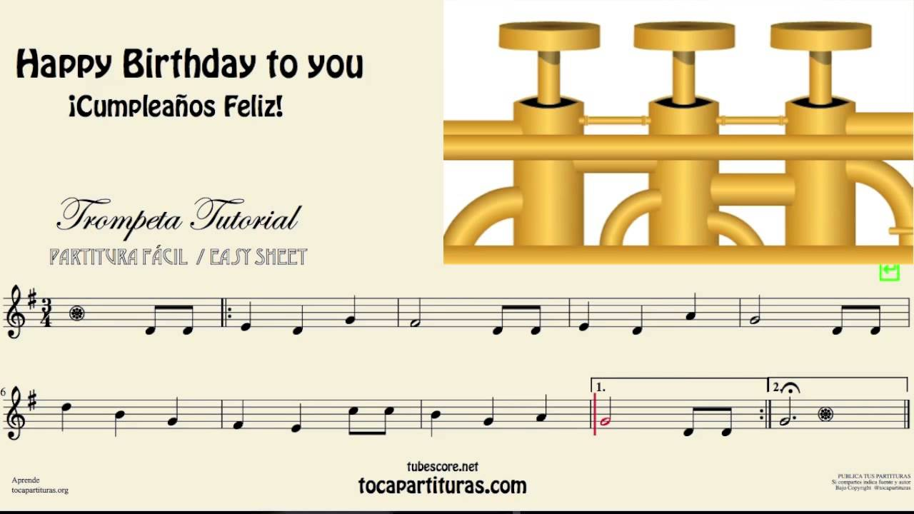 happy birthday trumpet ; maxresdefault