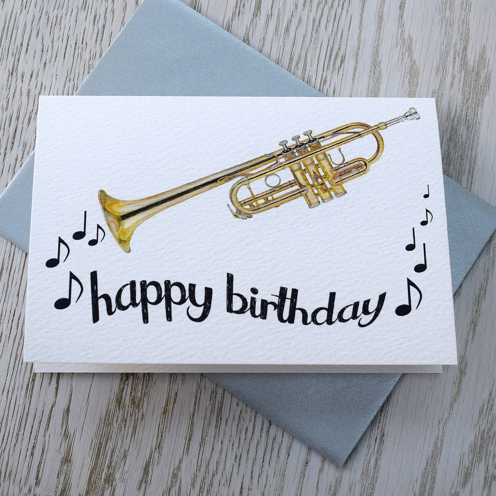 happy birthday trumpet ; original_trumpet-happy-birthday-card