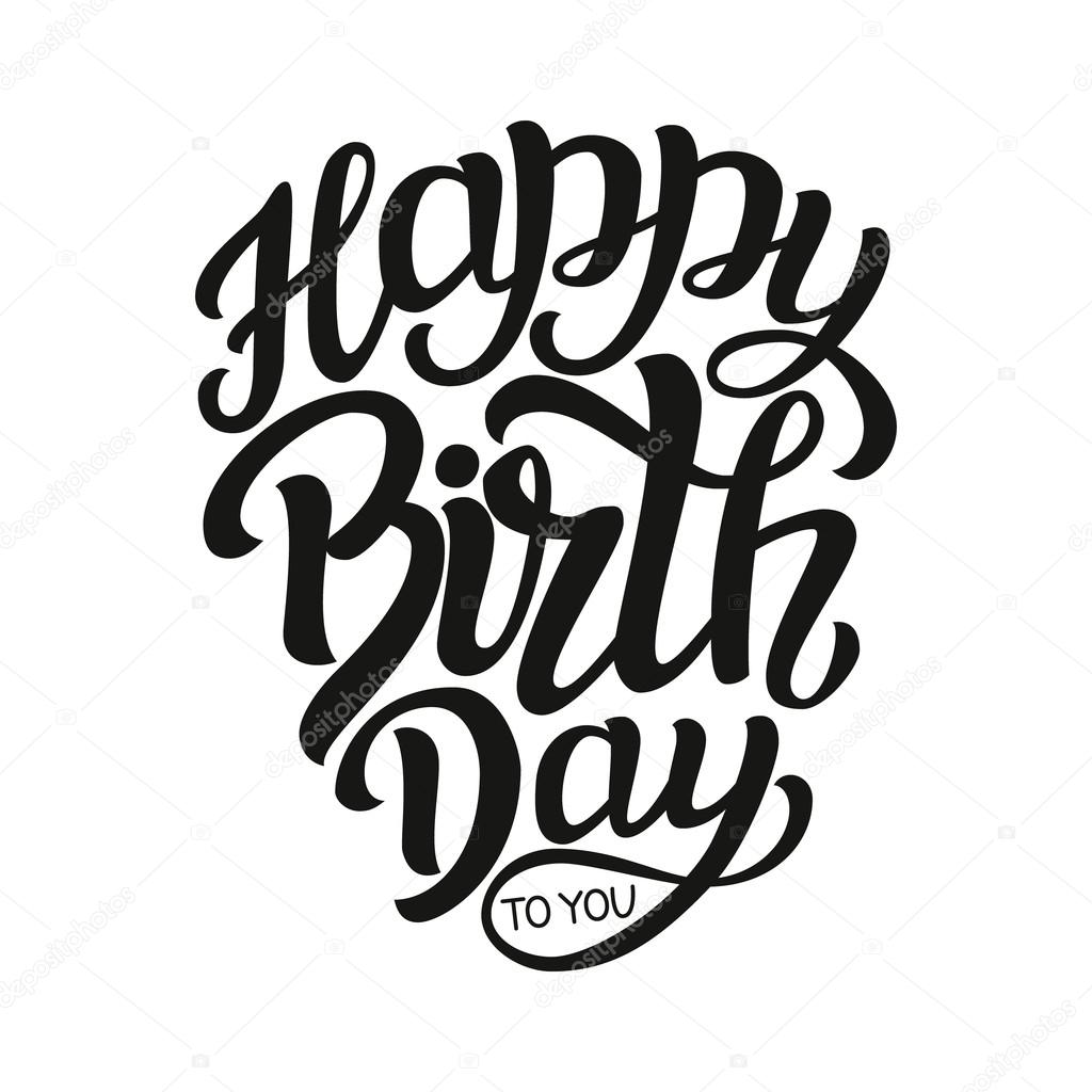 happy birthday typography ; depositphotos_107983604-stock-illustration-happy-birthday-typography-lettering-template