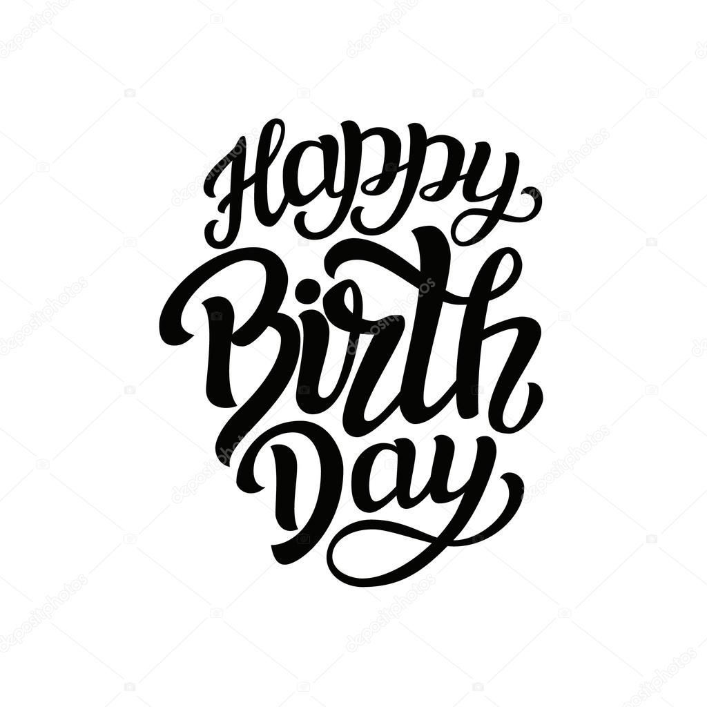happy birthday typography ; depositphotos_107983930-stock-illustration-happy-birthday-typography-lettering-template