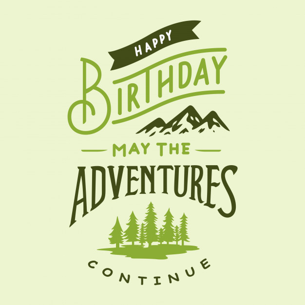 happy birthday typography ; happy-birthday-typography-design_8240-21