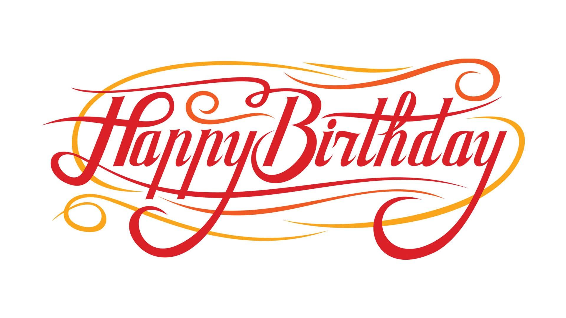 happy birthday typography ; happy_birthday_typography