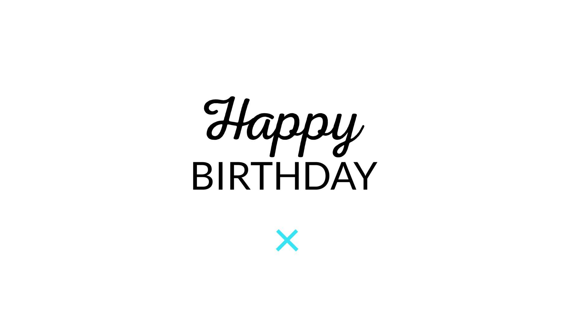 happy birthday typography ; maxresdefault