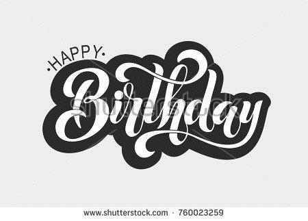 happy birthday typography ; stock-vector-happy-birthday-typographic-vector-design-for-greeting-card-birthday-card-invitation-card-760023259