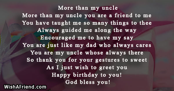 happy birthday uncle ; 15779-birthday-poems-for-uncle