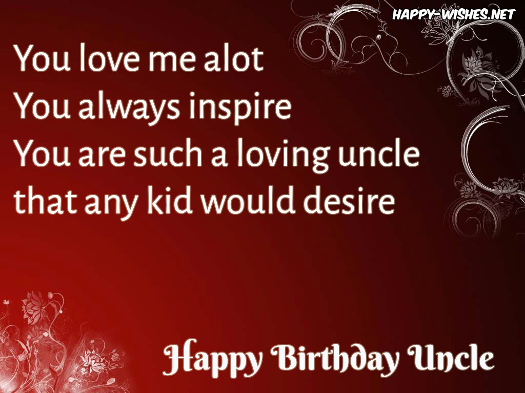 happy birthday uncle ; 4HappyBirthdayWishesforuncle-compressed