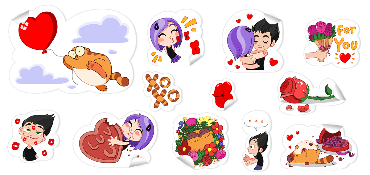 happy birthday viber sticker ; top-9-Love-is-all-you-need