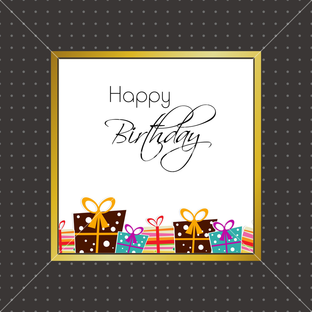 happy birthday wall posters ; happy-birthday-poster-or-wall-hangings-with-printed-gift-boxes-and-stylish-_mk9qAz_SB_PM