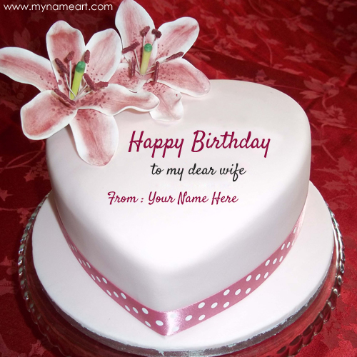 happy birthday wife wallpaper ; birthday-wishes-for-wife-with-name