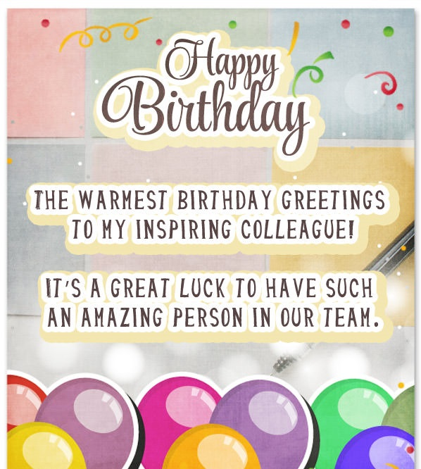 happy birthday wish to senior colleague ; Birthday-Wishes-For-Colleague-Image461