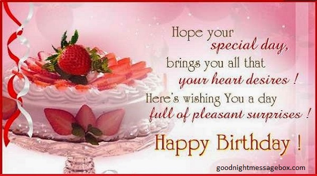 happy birthday wish you all the best god bless you ; hpy