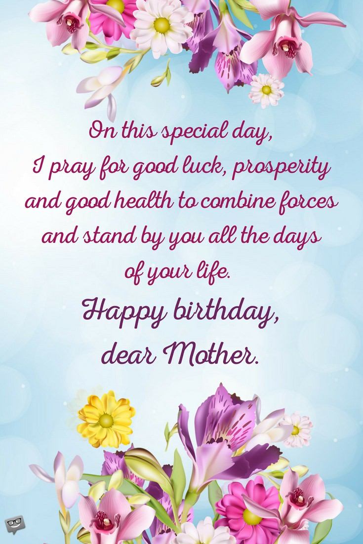 happy birthday wish you good health and long life ; Happy-Birthday-prayer-for-mother