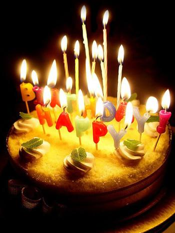 happy birthday wish you many happy returns of the day ; Candles