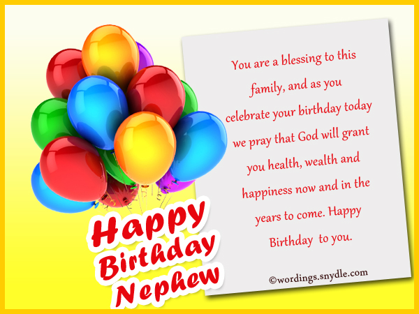 happy birthday wishes for nephew in english ; birthday-wishes-for-nephew