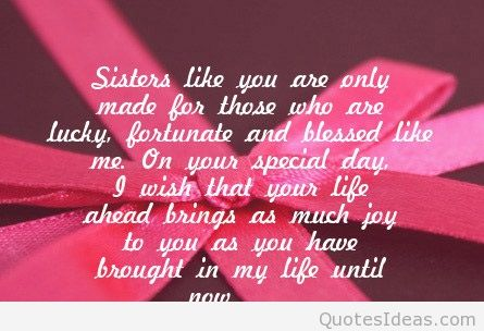 happy birthday wishes quotes ; Birthday-wishes-for-sister-16
