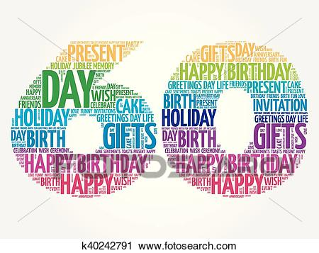 happy birthday word clipart ; happy-60th-birthday-word-cloud-clipart__k40242791