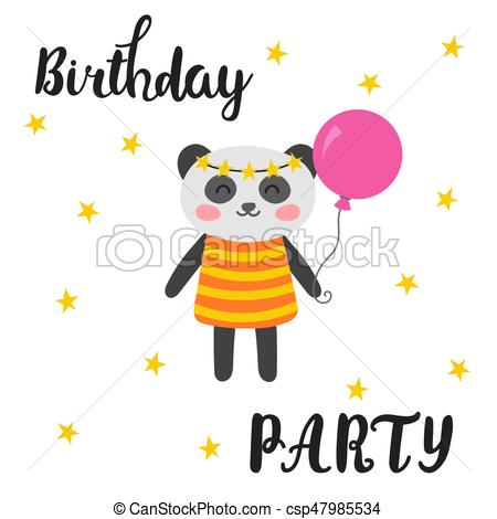 happy birthday word clipart ; happy-birthday-greeting-card-cute-eps-vectors_csp47985534