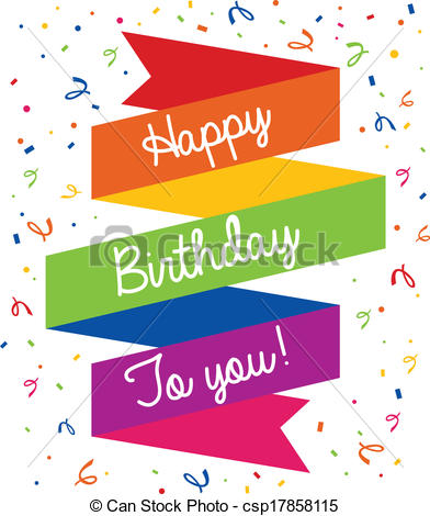 happy birthday word clipart ; happy-birthday-greeting-card-vector-clip-art_csp17858115