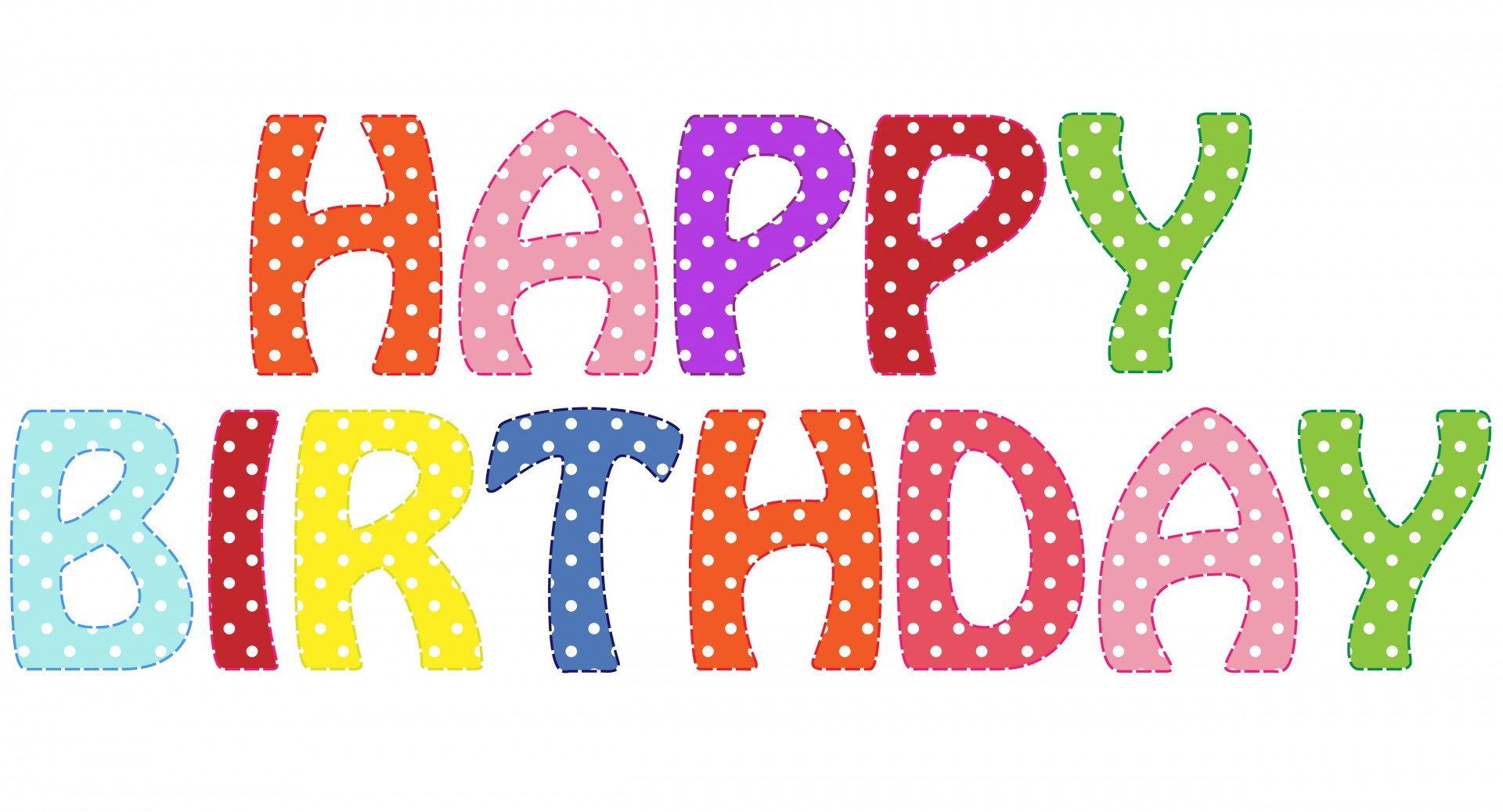 happy birthday word clipart ; happy-birthday-text-clipart