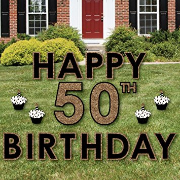 happy birthday yard signs ; 8111ebtgR1L