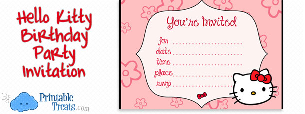 hello kitty birthday card printable free ; free-hello-kitty-birthday-party-invitation