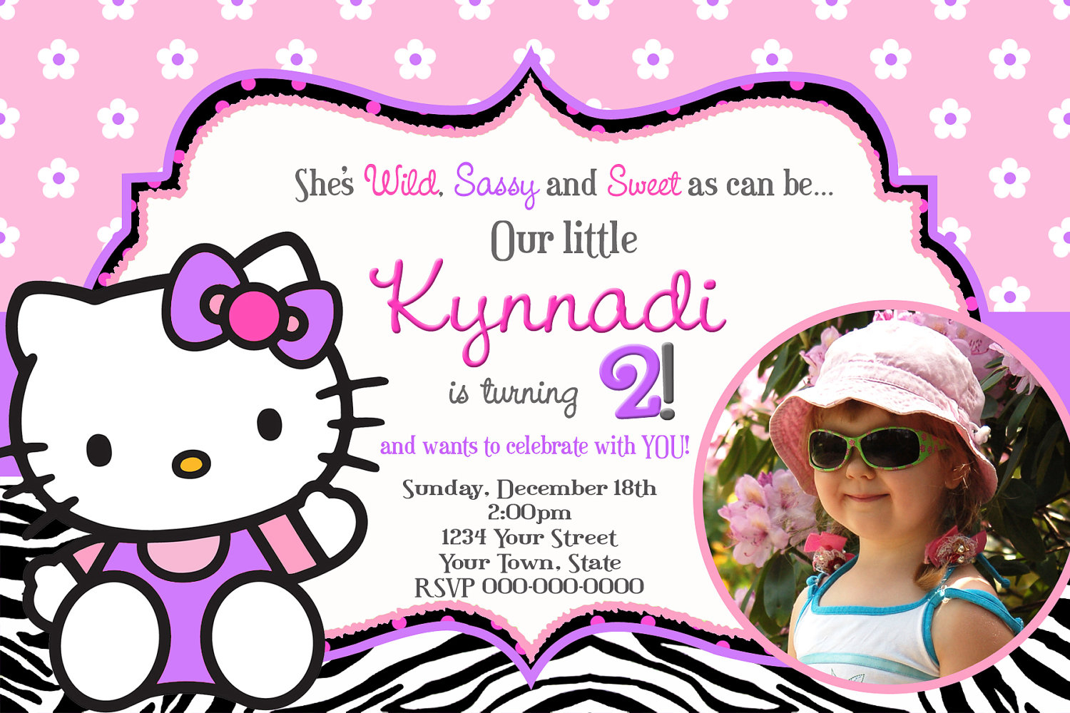 hello kitty birthday invitations with photo ; create-hello-kitty-birthday-invitations-templates-alluring-layout-for-egreeting-ecards-com