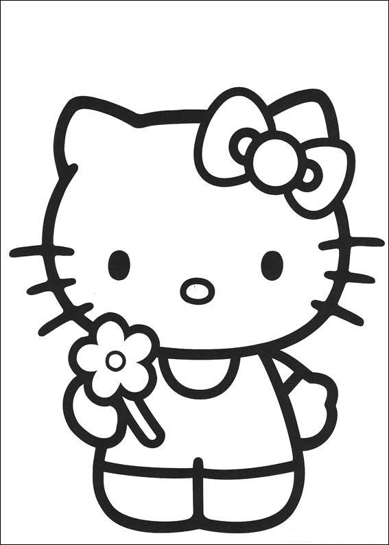 hello kitty birthday party coloring pages ; 77834f89c57c308ffc2a300833abe734