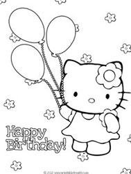 hello kitty happy birthday coloring ; hello-kitty-birthday-coloring-page-balloons