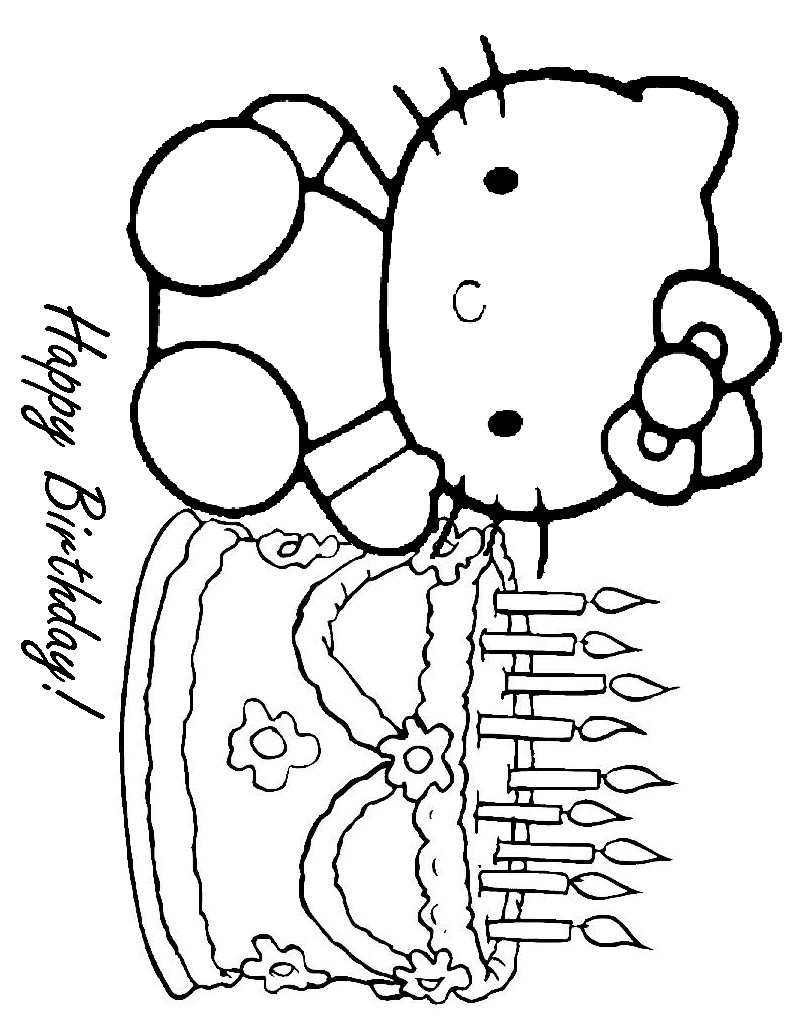 hello kitty happy birthday coloring ; hello-kitty-birthday-coloring-pages-happy-new