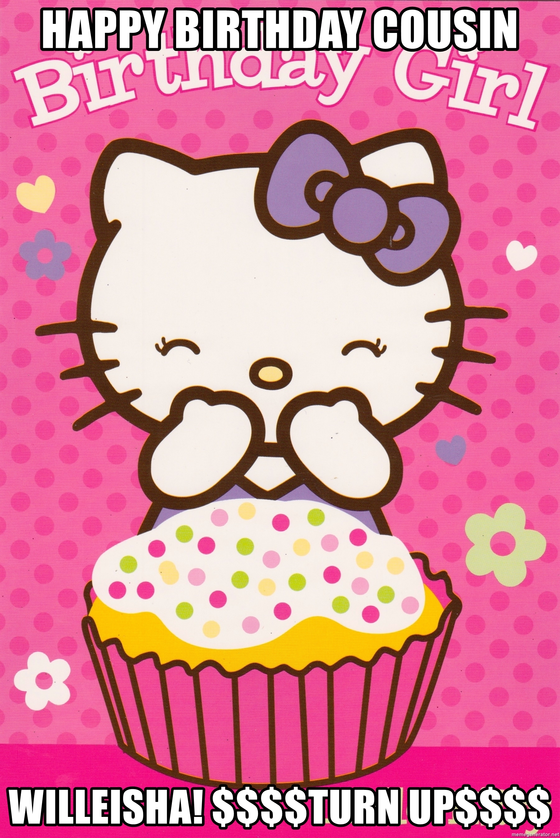 hello kitty happy birthday meme ; 53684801