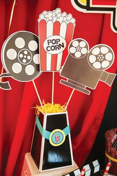 hollywood birthday banner ; 27daa0af3e07aebdedd5104e7f9d3c02--movie-party-decorations-hollywood-party-decorations