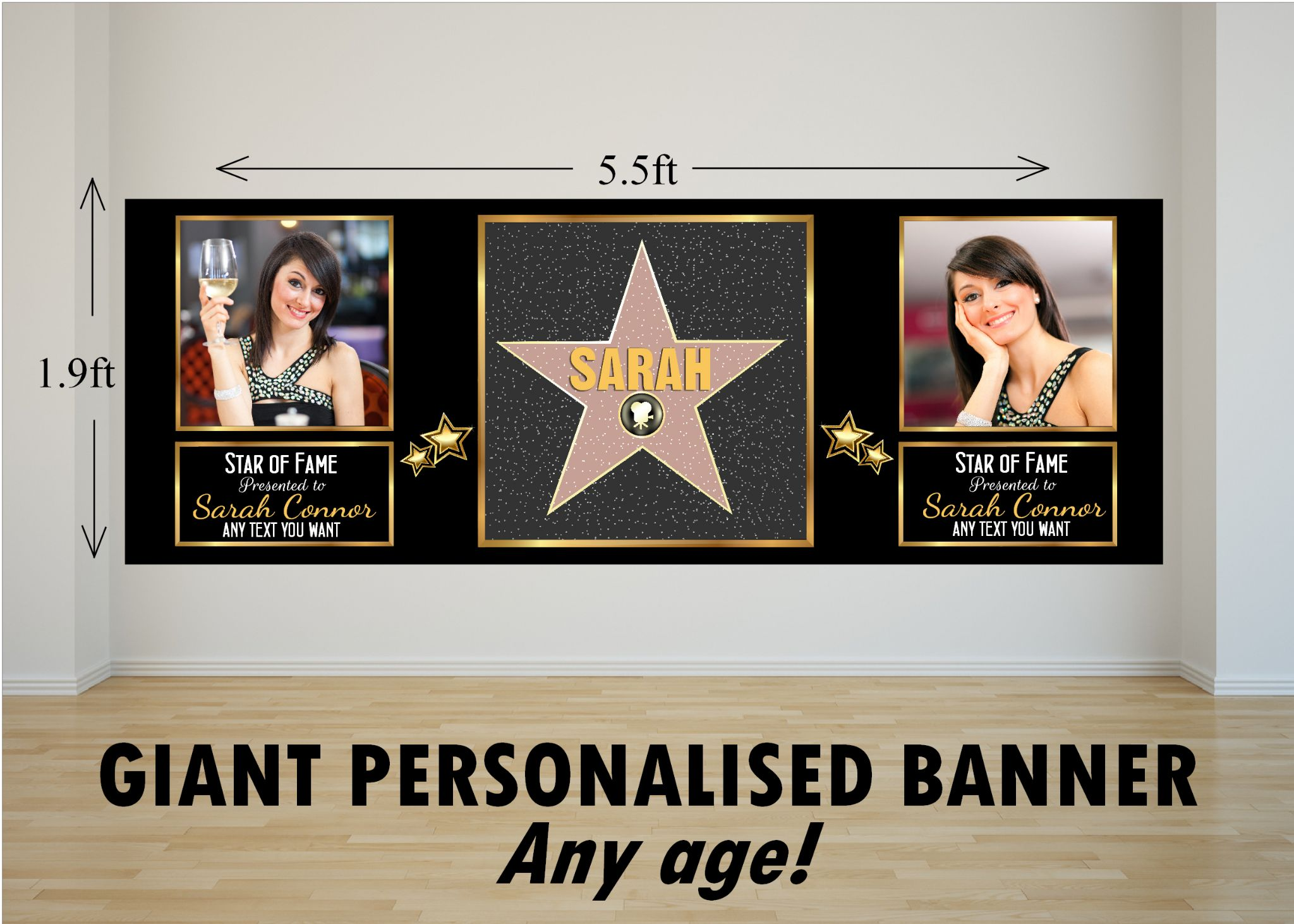 hollywood birthday banner ; personalised-giant-large-hollywood-star-happy-birthday-photo-poster-banner-n81-16621-p