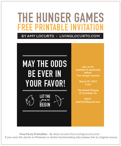 hunger games themed birthday card ; Hunger-Games-Party-Invitation1