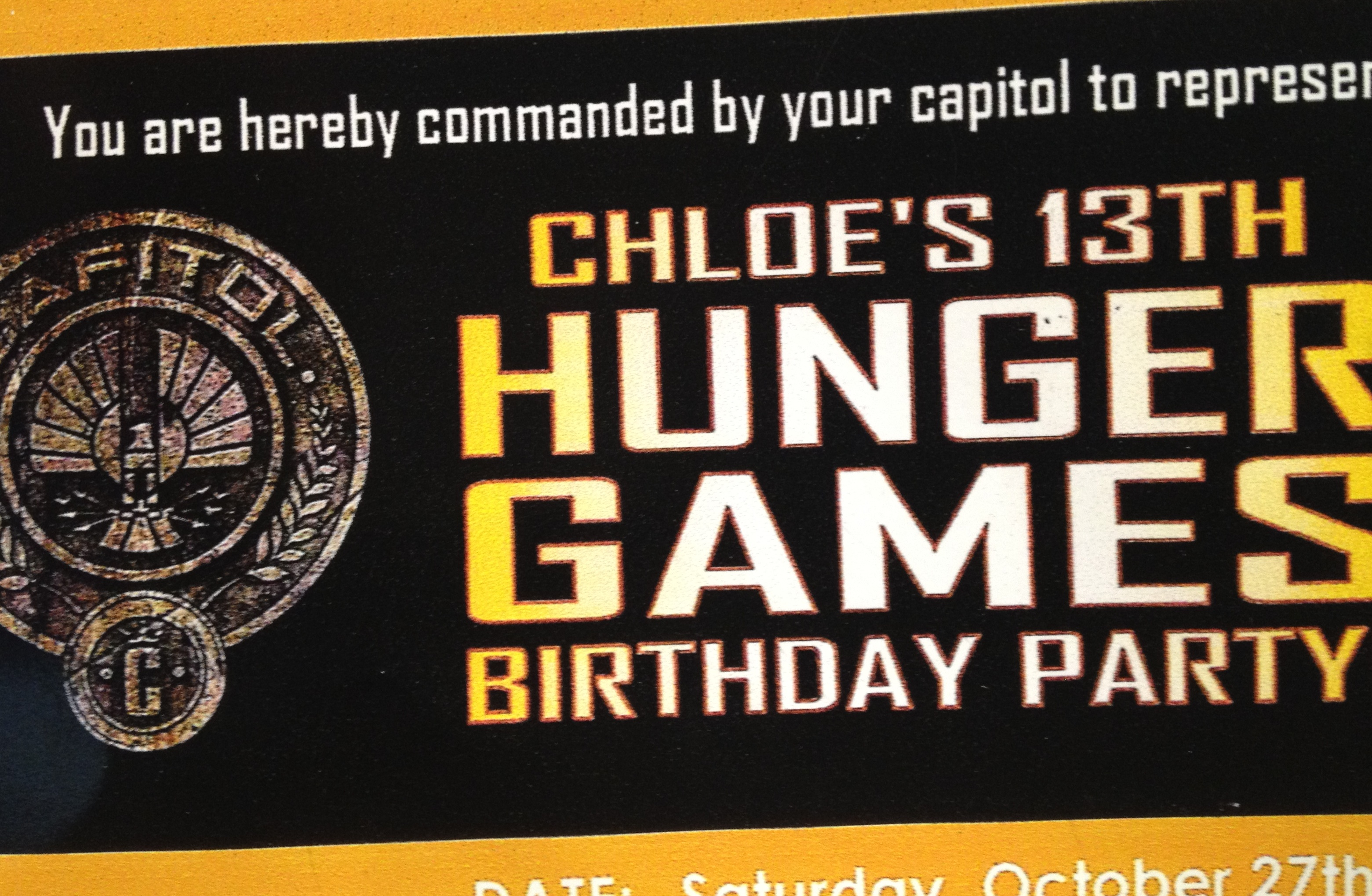 hunger games themed birthday card ; hunger-games-birthday-party-invitations-to-make-your-comely-Party-invitations-more-elegant-11
