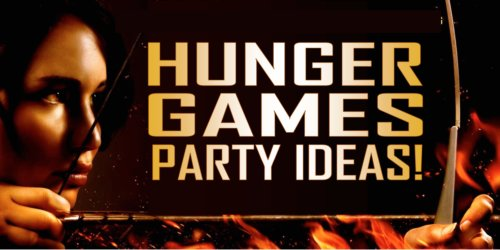 hunger games themed birthday card ; xhunger-games-party-ideas