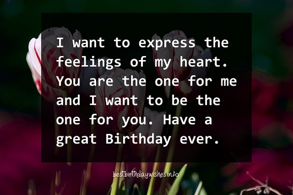 i want birthday wishes ; One-for-me