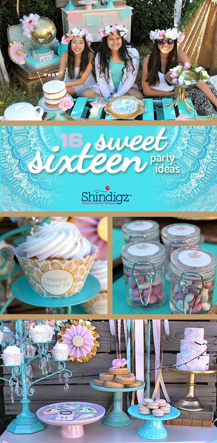 idea for sweet 16 birthday party activities ; 1bbed78cbe47474096e59b1a90fa7431--girl-birthday-party-themes-adult-birthday-party