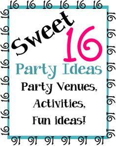 idea for sweet 16 birthday party activities ; 450bc994b73a0b6b8577a7611cc0546c--sweet-sixteen-parties-party-venues