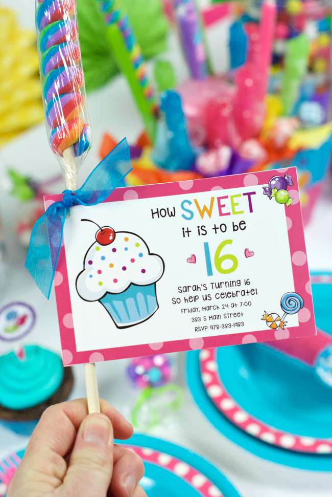 idea for sweet 16 birthday party activities ; fancy-ideas-for-16th-birthday-party-games-sweet-16-throw-a-candy-themed
