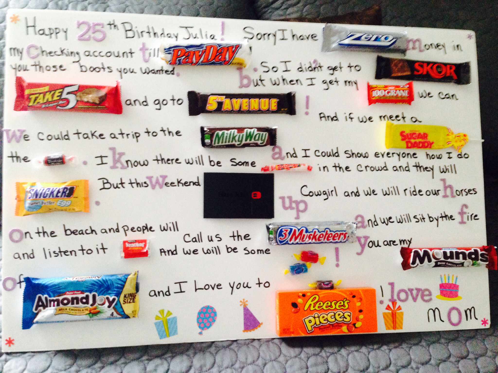 ideas for a birthday poster ; happy-birthday-poster-card-great-idea-creative-ideas-pinterest_2992987