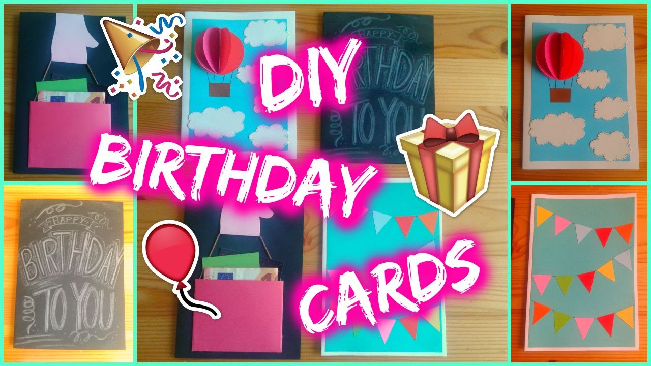 ideas for greeting cards for birthday ; maxresdefault