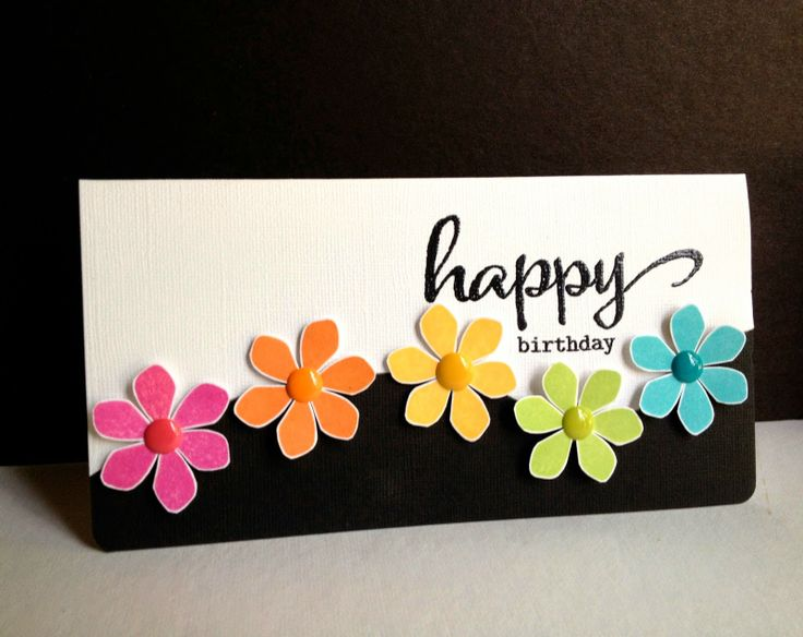ideas for making birthday greeting cards at home ; 10-handmade-birthday-card-8
