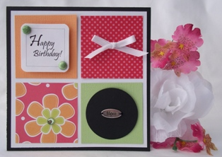ideas for making birthday greeting cards at home ; bday-four-square-mom-emlg