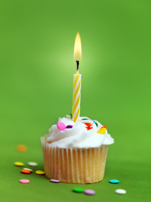 image of a birthday candle ; birthday-candle1