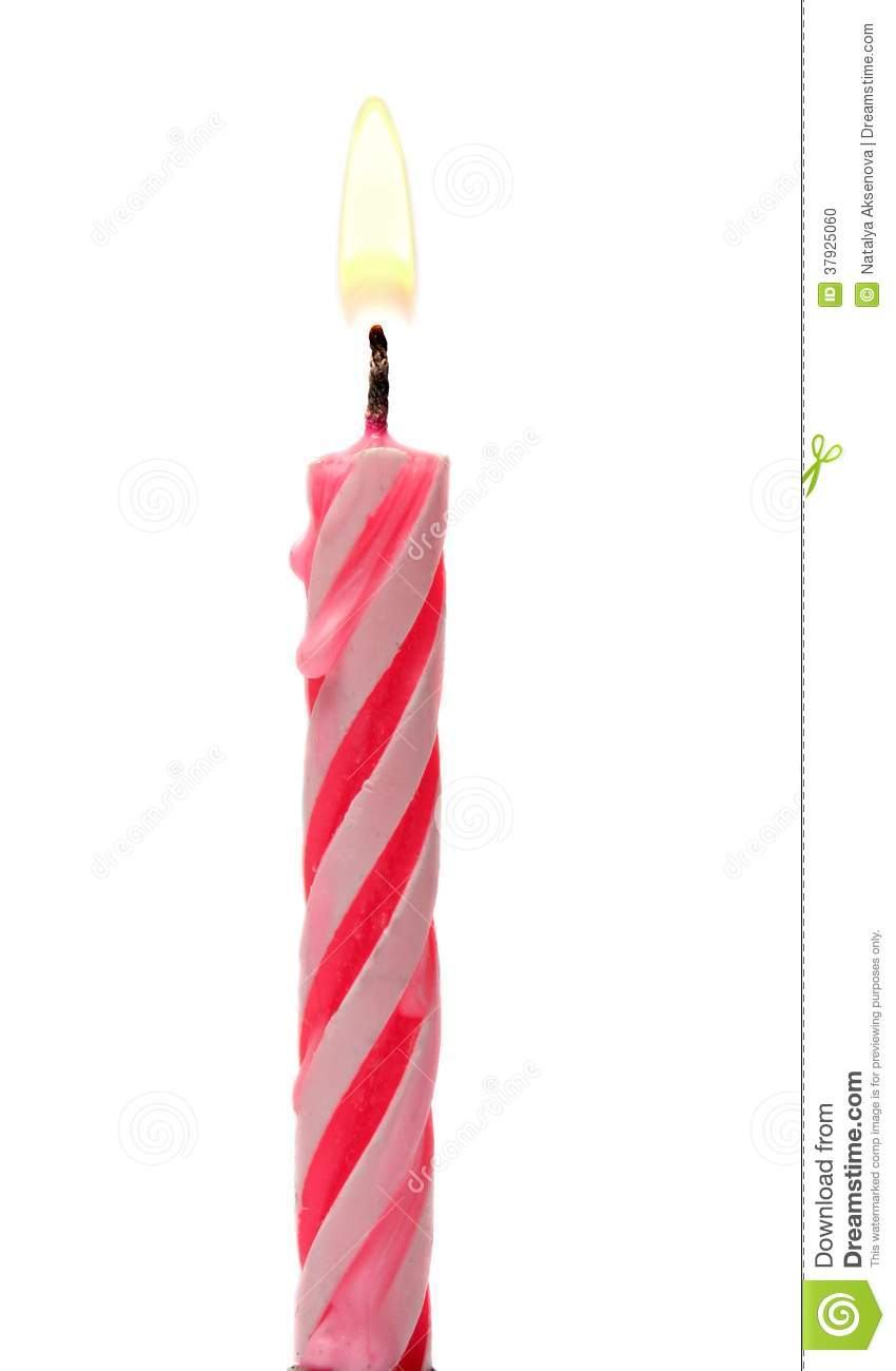 image of a birthday candle ; burning-birthday-candle-cake-isolated-white-background-see-my-other-works-portfolio-37925060
