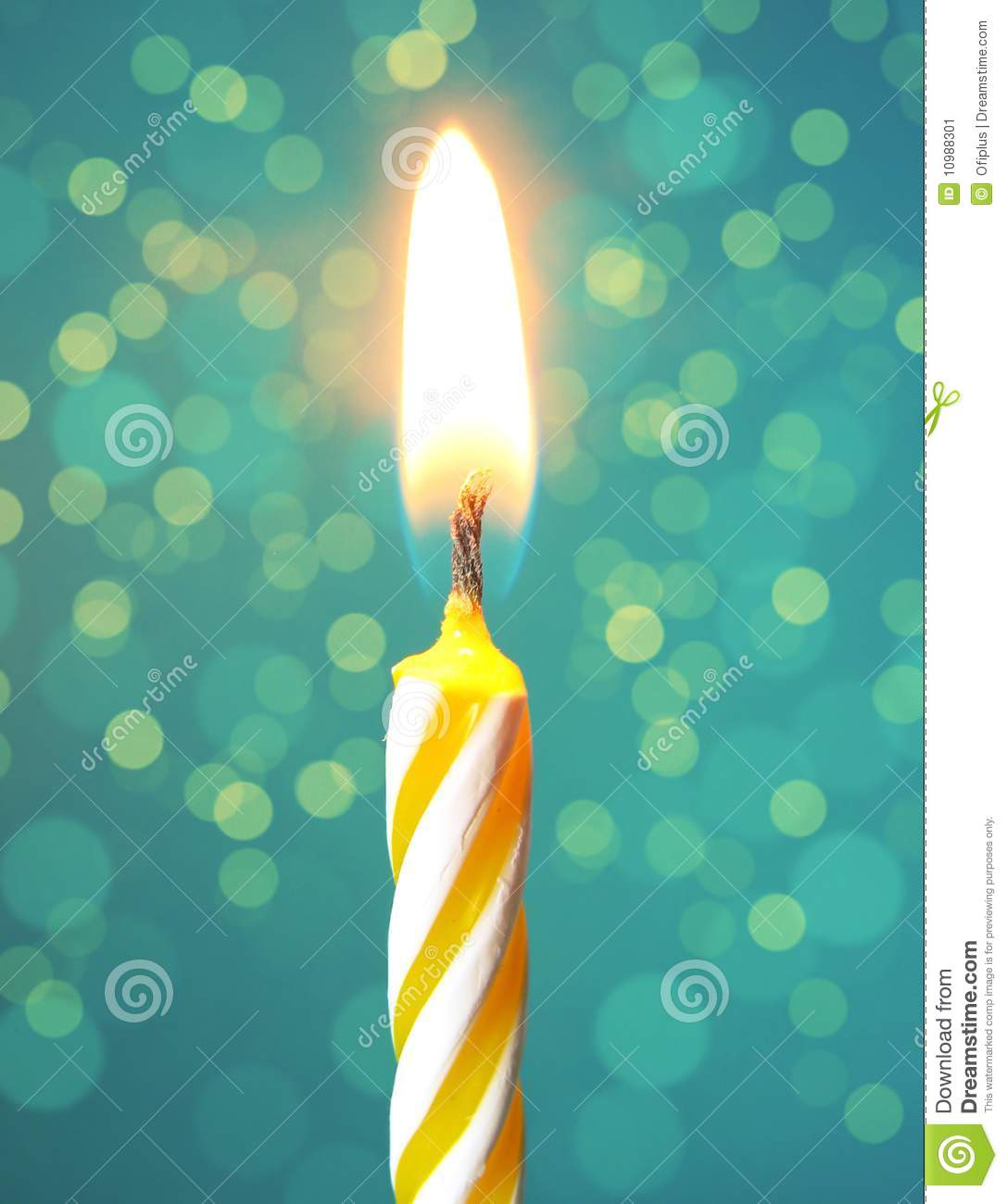 image of a birthday candle ; happy-birthday-candle-10988301